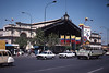 Estacion Central, commonly known as Alameda, from the main road, it's a fine building.