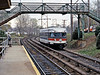 From Toronto I returned to New York via Niagara Falls and then back to Philadelphia for the unique Philadelphia & Western third rail interurban from 69th Street to Norristown. In 1987 the 50 year+ Brill Bullets were still in everyday service, here at Villanova in the western Philadelphia suburbs.