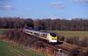 The pair of VEPs were followed by a Eurostar, funny now to see a Eurostar coasting over the third rail network.