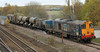 20303 with 20301 on rear with RHTT at Hatfield & Stainforth on 7th November 2012