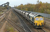 66526 at Hatfield & Stainforth on 7th November 2012