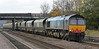 66413 still in DRS livery at Hatfield & Stainforth on 7th November 2012