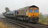 66745 Modern Railways with RHTT at Wrawby Junction on 6th November 2012