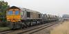 66727 Andrew Scott on rear of RHTT at Wrawby Junction on 6th November 2012