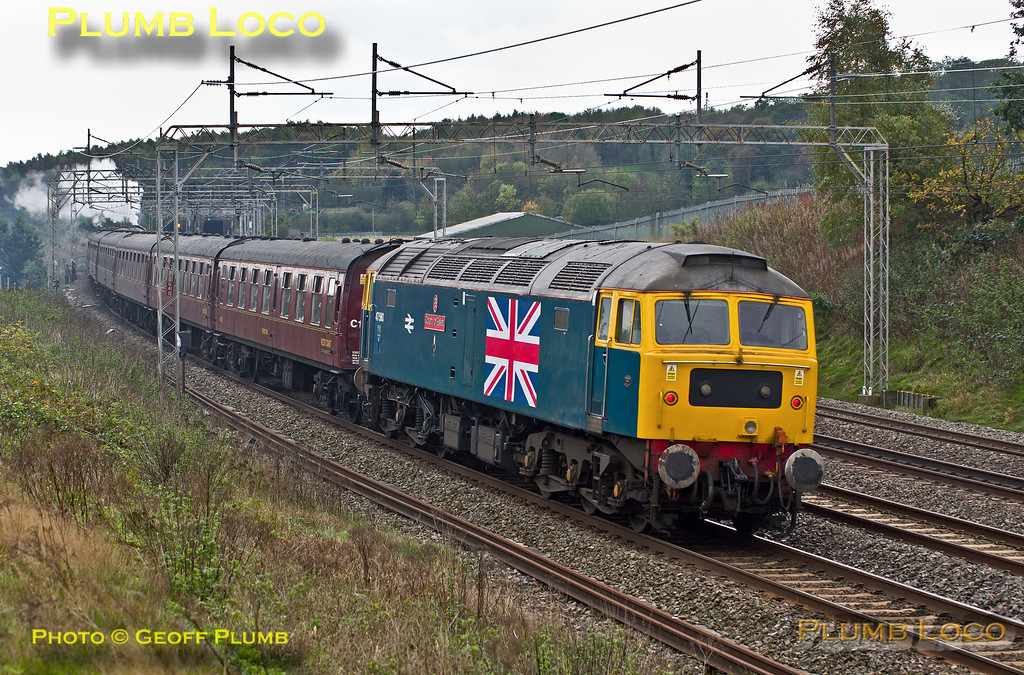 "47580 ""County of Essex"", Old Linslade, 1Z82, 2nd November 2013"