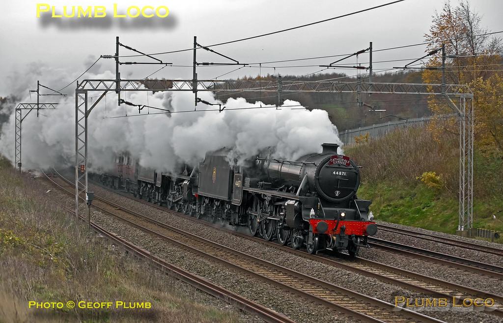 44871 & 45407, Old Linslade, 1Z90, 30th November 2013