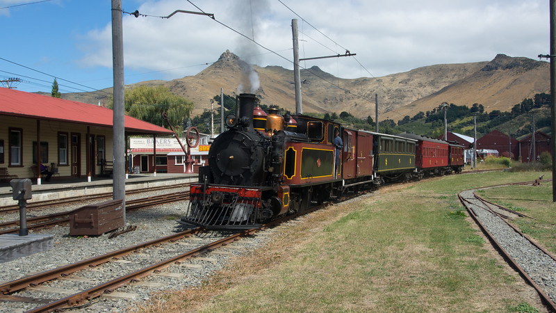 "Steaming ""Down Under"""