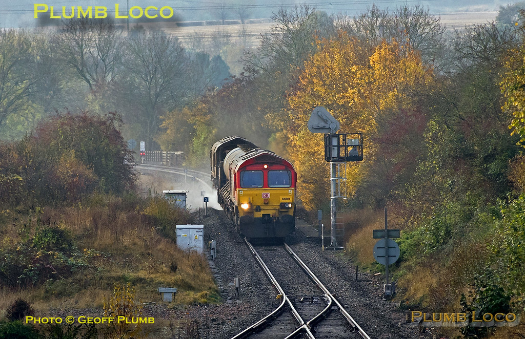 66001, Princes Risborough, 3J04, 13th November 2016