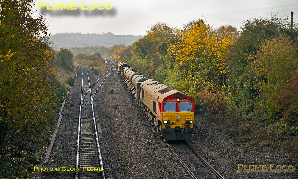 66001, Princes Risborough, 3J04, 13th November 2016