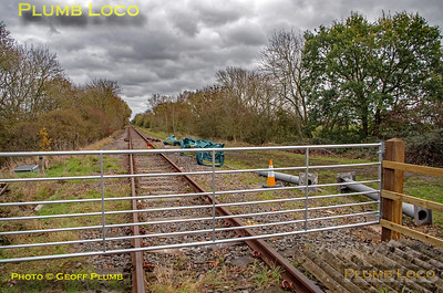 General View looking east, Launton Crossing, 3rd November 2018