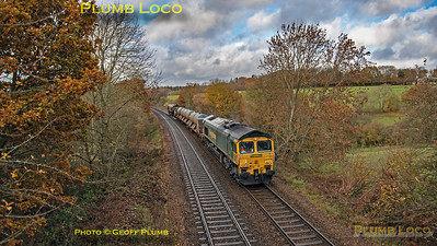 66519 & 66522, Keeper's Lane, 3J04, 14th November 2018