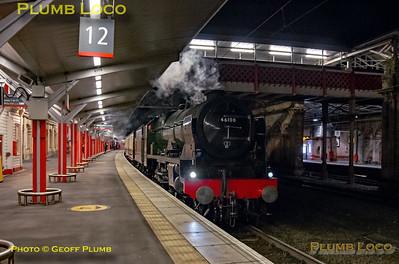 46100, Crewe Platform 12, 1Z41, 7th December 2019