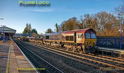 66116, Princes Risborough, 6W04, 25th December 2019