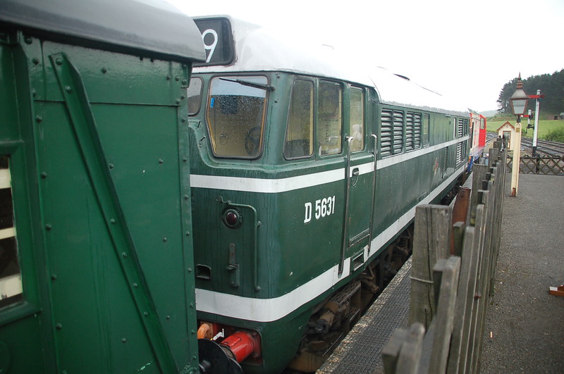 D5631 - Weybourne, North Norfolk Railway - 10 May 2016