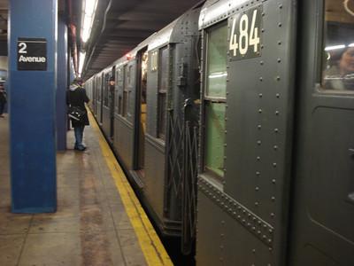 "<font color=""orange"">New York City Subway</font>"