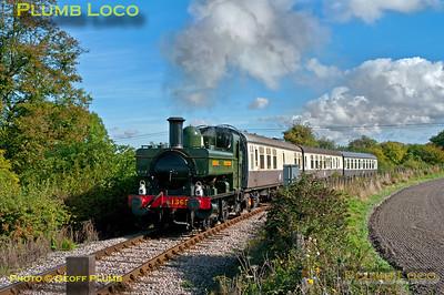 1369, Horsenden Lane Level-Crossing, 6th October 2013