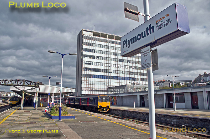 150 108, Plymouth Station, 2G76, 12th October 2013
