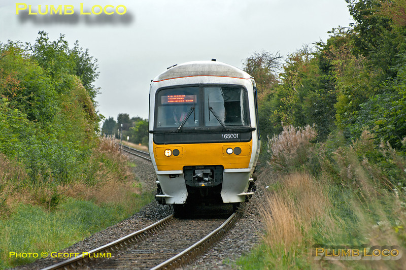 165 001, Park Mill Farm, 1Z02, 5th October 2013