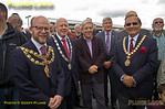 Dignitaries, Princes Risborough Station, 5th October 2013