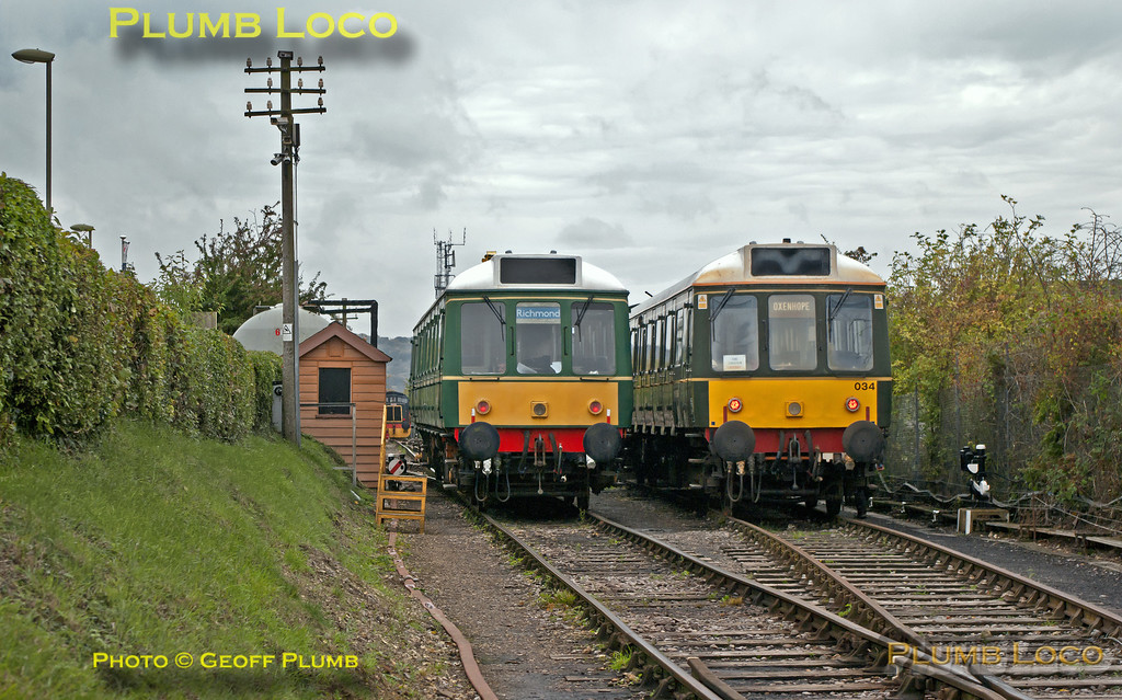55023 & 121 034, Chinnor, 19th October 2013