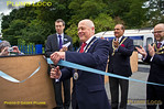 Ribbon Cutting, Princes Risborough, Platform 4, 5th October 2013