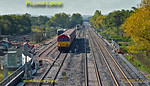 66114, 165 021 & 168 329, Bicester C.O.D. Sidings, 8th October 2015