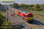 66114, Bicester C.O.D. Sidings, 6A48, 8th October 2015