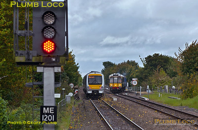 168 218 & 121 034, Bicester North, 13th October 2017