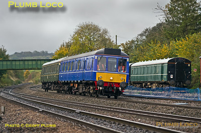 121 034 & 121 020, Princes Risborough, 5T01, 13th October 2017