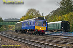 121 034 & 121 020, Princes Risborough, 5T01, 13th October 2017