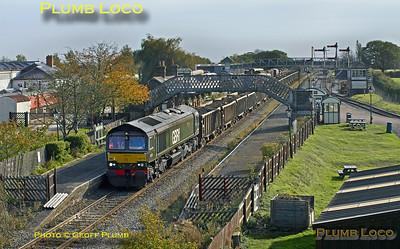 66779, Quainton Road, 6Z53, 17th October 2017
