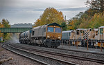 66522 & 66507, Princes Risborough, 3J04, 30th October 2019
