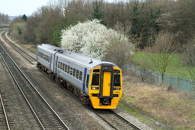 158836 is on a Maesteg to Cheltenham Spa service.