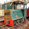 7011 (AD36) 'Galloways' Hunslet 4wDH -  Old Kiln Light Railway 20.11.10  Chris Weeks