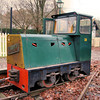 7013 (38) Hunslet 4wDH -  Old Kiln Light Railway 20.11.10  Chris Weeks