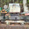 8887 Motor Rail 4wDM (frame on skip wagon chassis) -  Old Kiln Light Railway 20.11.10  Chris Weeks