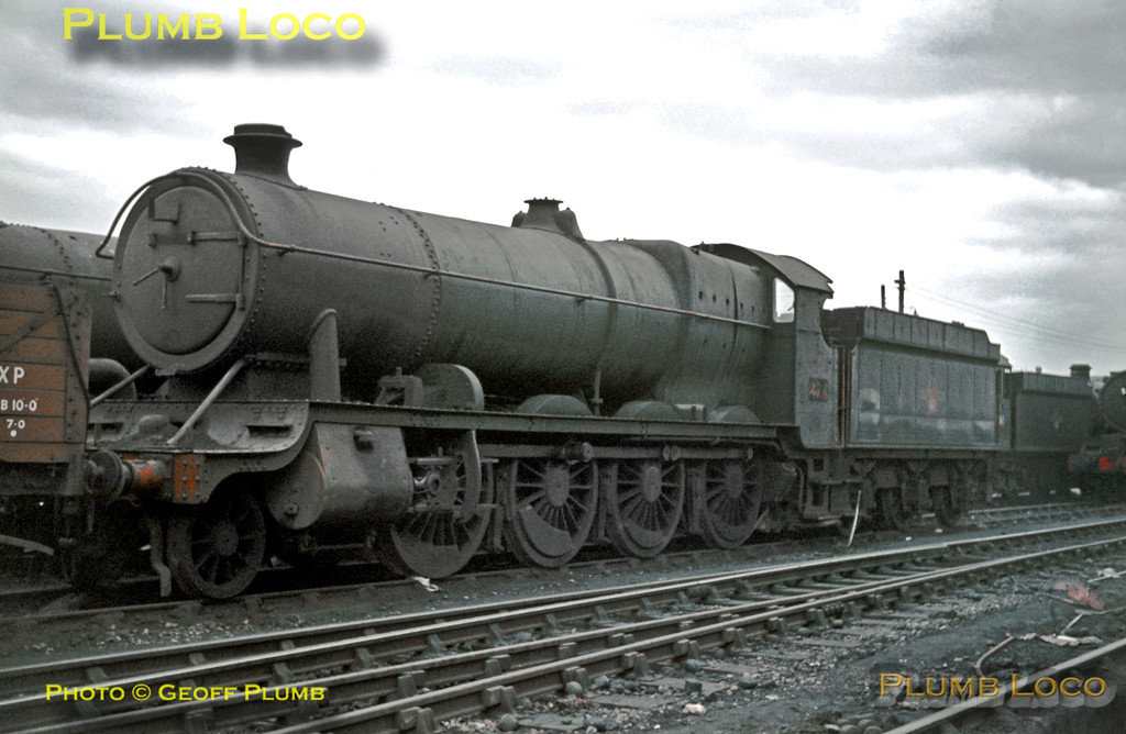 GWR Class 47xx 2-8-0 No. 4705, Old Oak Common, 2nd February 1964