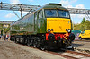 "57604 ""Pendennis Castle"" in its stunning Great Western Brunswick Green lined livery."