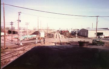 The aftermath at wiggins after the head on of Apr 13, 1984