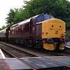 37428 stabled with the Royal Scotsman luxury train at Taynuilt 28/5/1998.