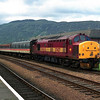 37427 stabled with the sleeper stock at Fort William 27/5/1998.