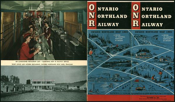 Ontario Northland Railway 1949 Oct 30