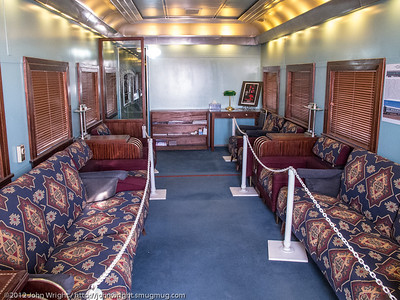 Santa Fe Denehotso Bedroom-Observation-Lounge car