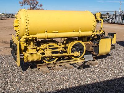 Homestake Mining Porter-built compressed air locomotive