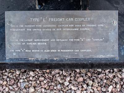 "Type ""E"" freight coupler"