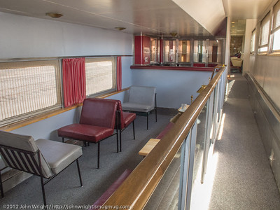 Santa Fe 504 Pleasure Dome lounge car
