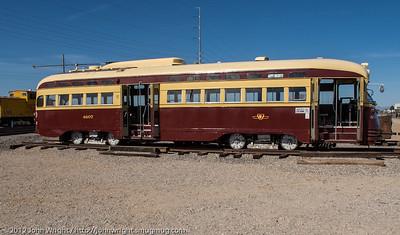 Restored PCC Trolley #4607