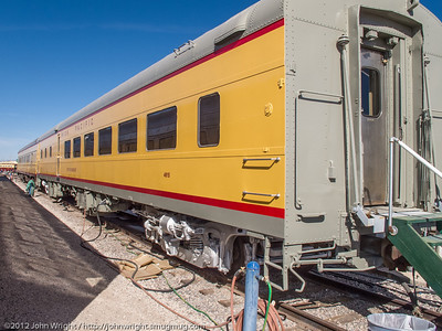 Union Pacific City of Chandler dining car