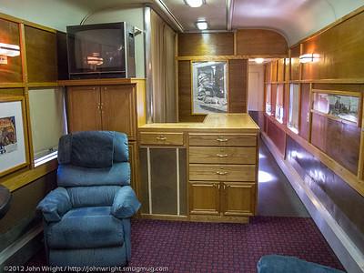 Santa Fe Regal Phoenix lounge car