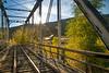 Railroad bridge at the old Gato Station, Colorado